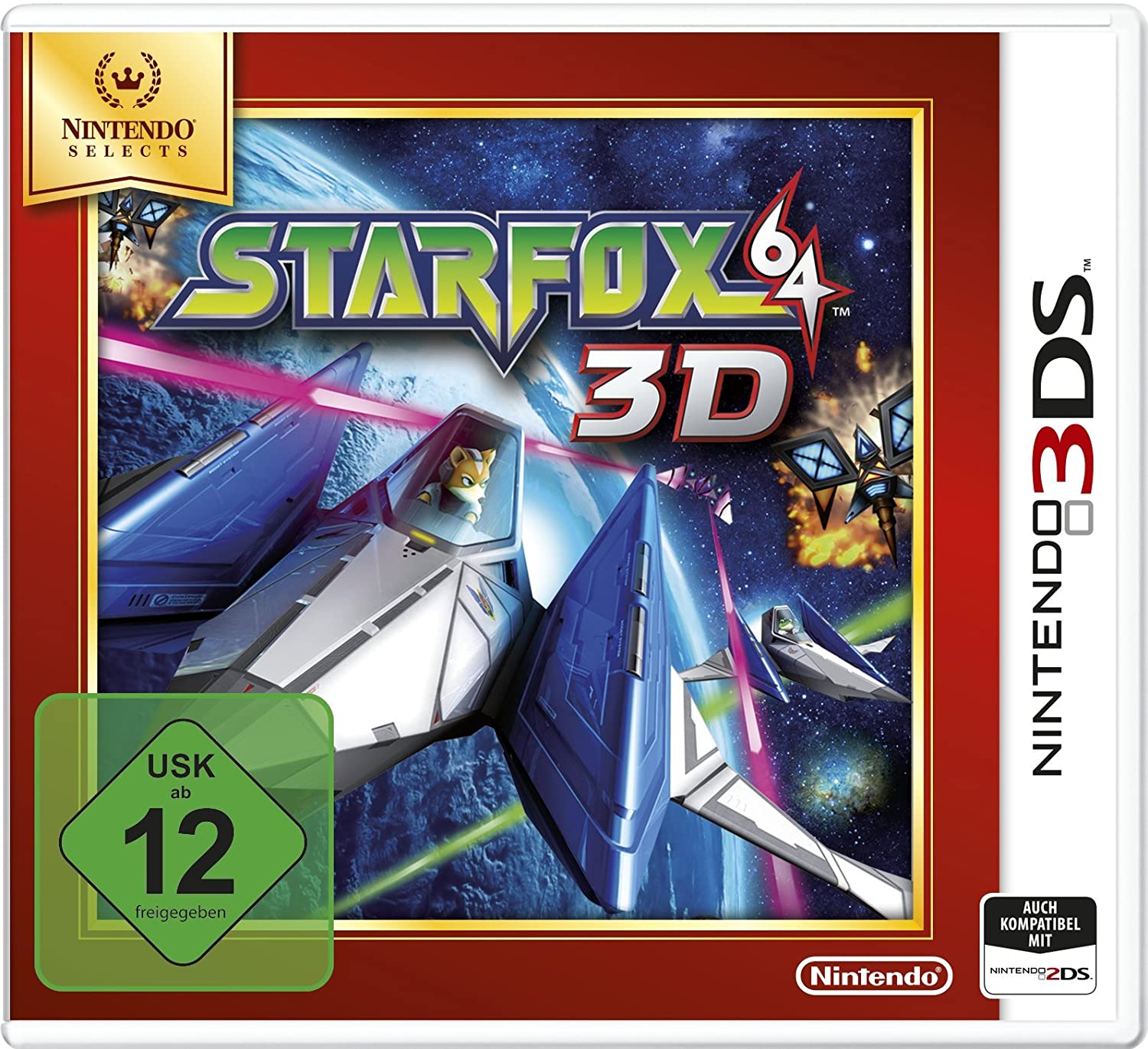 Nintendo of Europe GmbH Star Fox 64 3D Selects (USK ab 12 Jahre) 3DS
