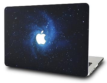 KECC MacBook Air 13 Pulgadas Funda Dura Case Cover MacBook Air 13.3 Ultra Delgado Plástico {A1466/A1369} (Azul)