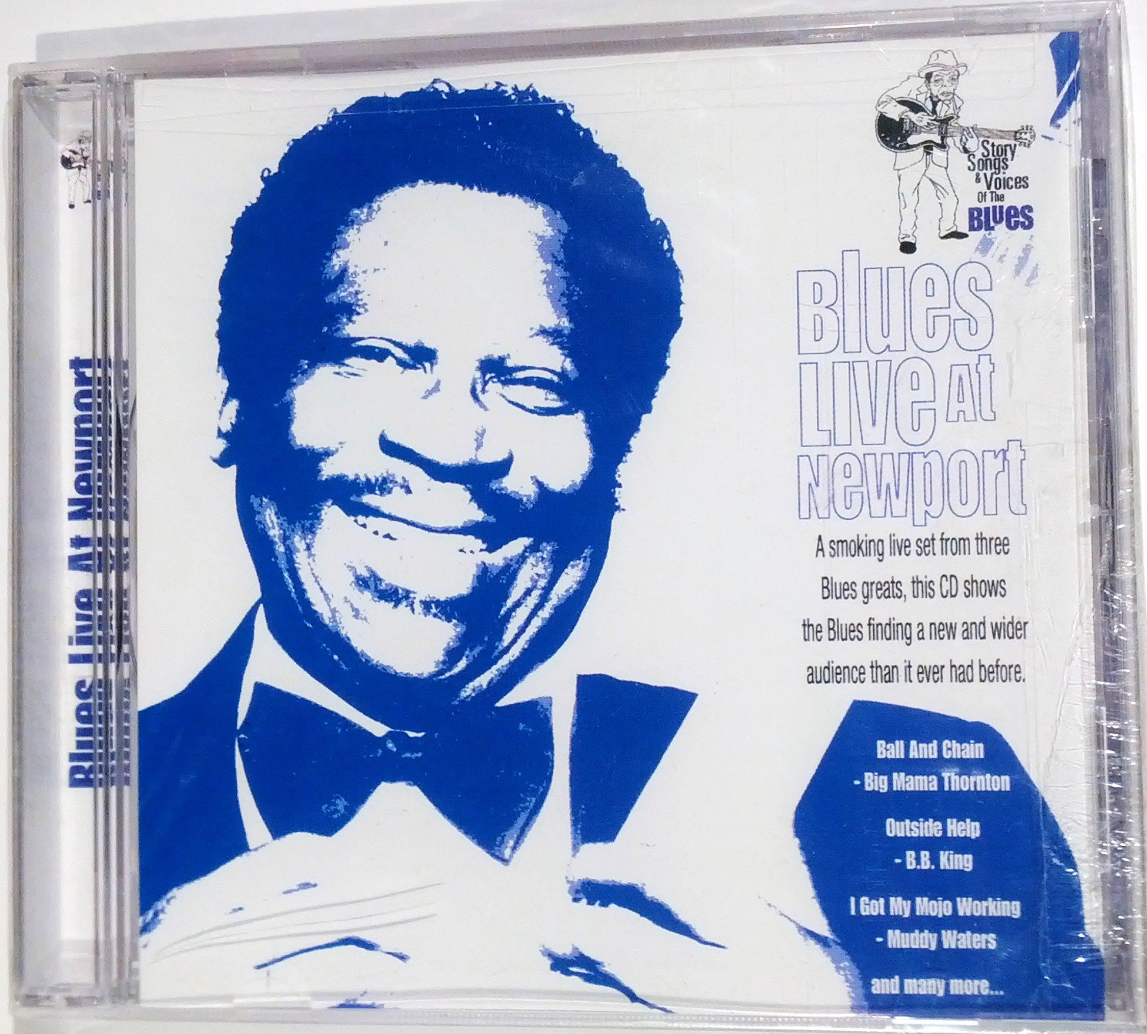 Blues Live at Newport: Story Songs & Voices