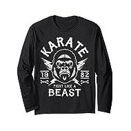 06d0c32defe49 KARATE T SHIRT - MMA T SHIRT (LONG SLEEVE TSHIRT)
