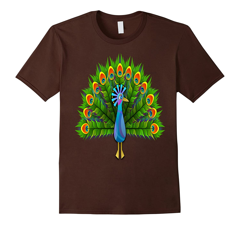 My Pretty Peacock Bird T-Shirt C2-CD