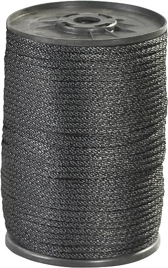 Aviditi Nylon Solid Braided Rope 500 X 1 4 1150 Lbs Tensile Strength Black Twr120 Amazon Com