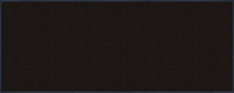 Wash+dry Fußmatte Schwarz 75x190 cm