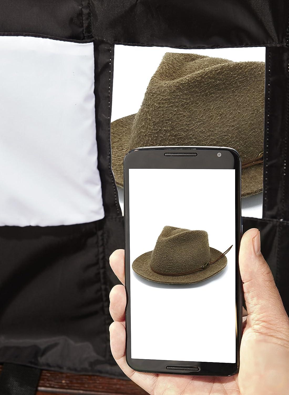 Basics Portable Photo Studio /& 60-Inch Lightweight Tripod with Bag