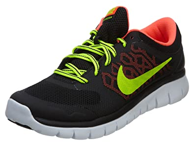 promo code 86274 a54c7 Nike Kids Flex 2015 Rn GS Running Shoe BLACKHOT LAVAWHITEVOLT 7 M US Big  Kid Buy Online at Low Prices in India - Amazon.in