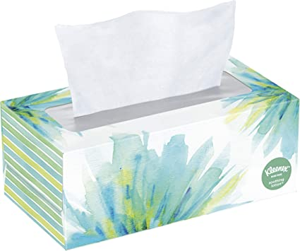 Kleenex Soothing Lotion Facial Tissues with Aloe & Vitamin E, 110 Count