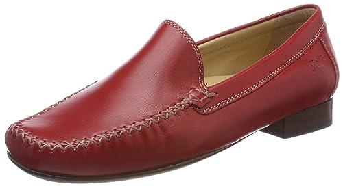 Sioux Campina, Mocasines para Mujer, (Rojo), 38 EU: Amazon.es: Zapatos y complementos