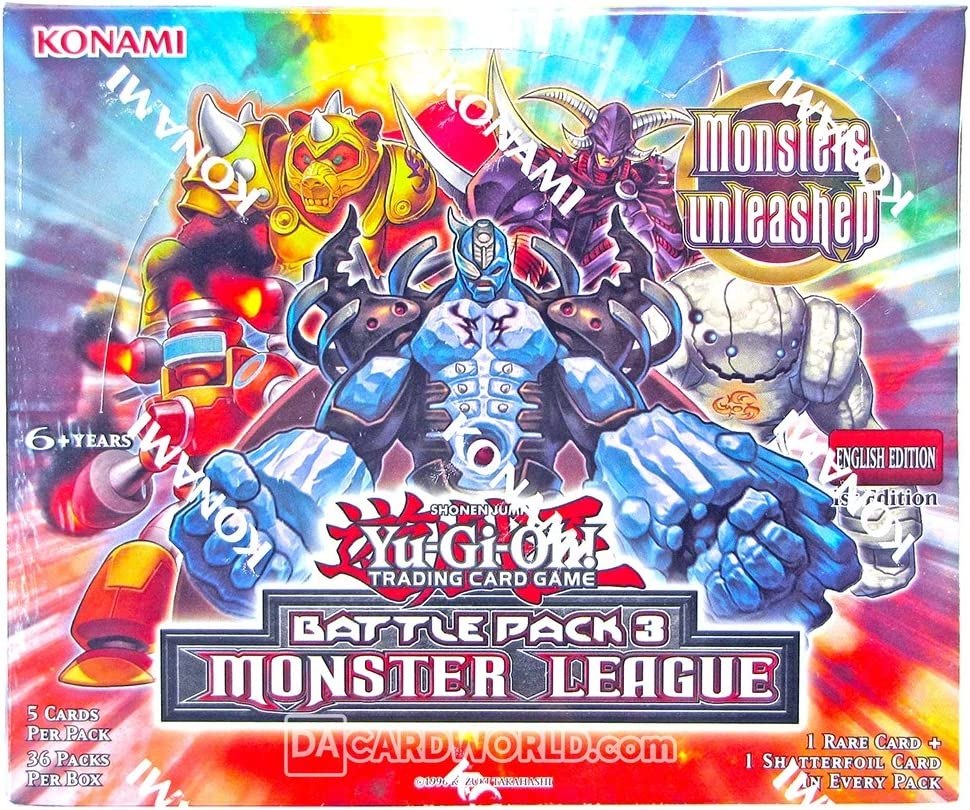 Konami Yu-Gi-Oh Battle Pack 3: Monster League Booster Box: Amazon.es: Juguetes y juegos
