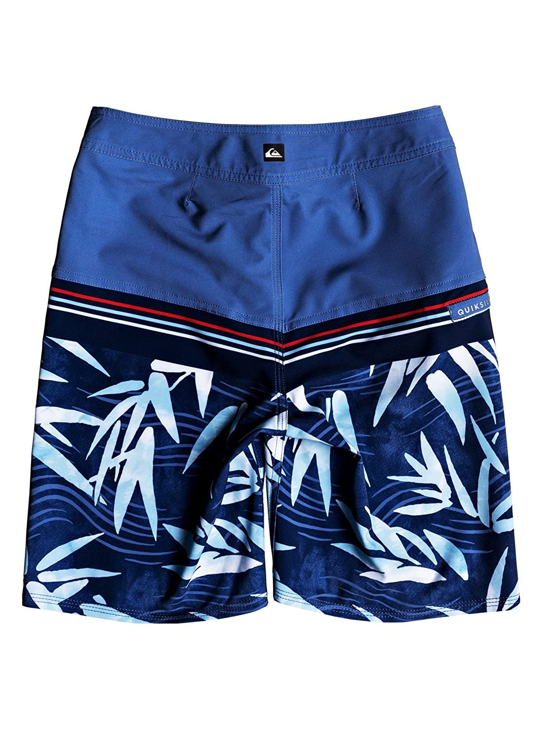 Quiksilver Boys Big Highline Zen Division Youth 18 Swim Trunk Boardshorts
