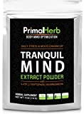 Tranquil Mind - Daily Stress & Mood Enhancer Extract Powder - 139 Servings! Fast Acting with 5-HTP, L-Tryptophan, Ashwagandha, L-Theanine, Schisandra, Passion Flower and Piperine
