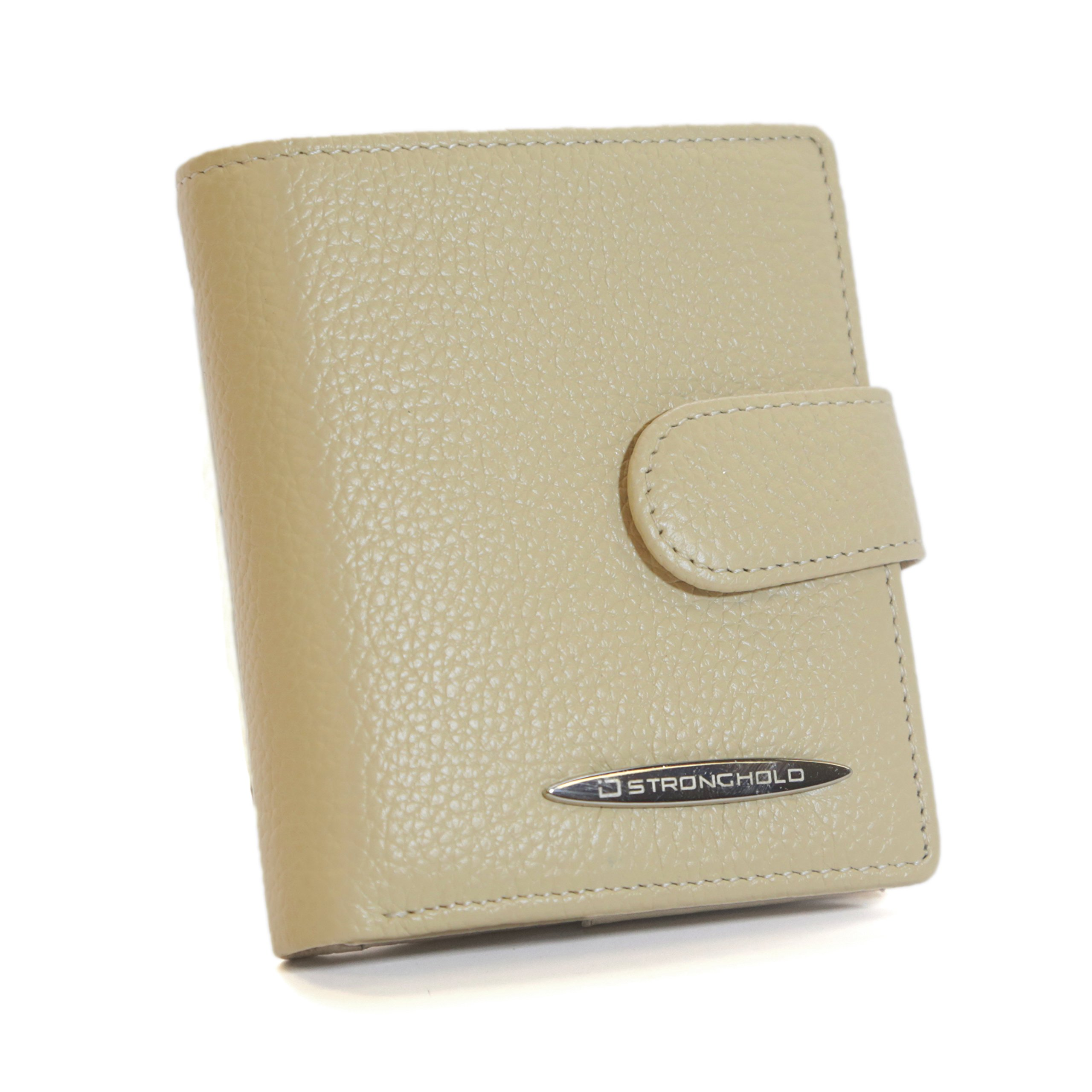 ID Stronghold Small RFID Wallet Bifold - RFID Blocking Ladies Wallet - Top Quality Leather
