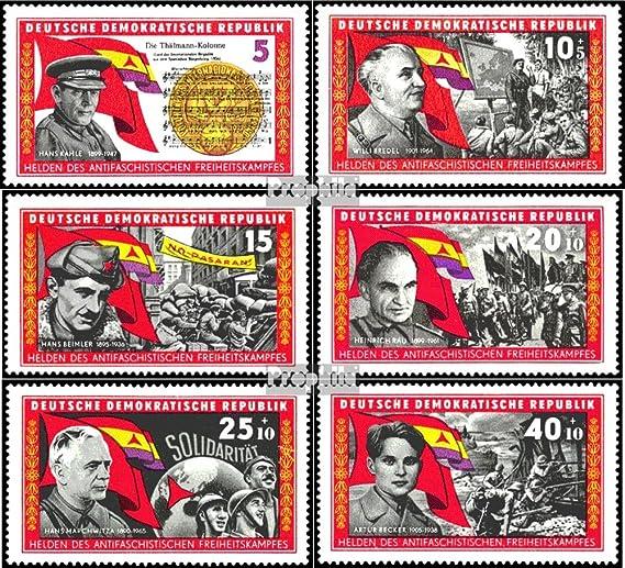 Prophila Collection DDR (RDA) 1196-1201 (Completa.edición) 1966 La Guerra Civil Española (Sellos para los coleccionistas): Amazon.es: Juguetes y juegos