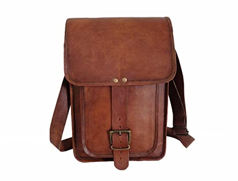 f4c79c8ba3bb Image Unavailable. Image not available for. Color  Vintage Leather  Messenger Bag