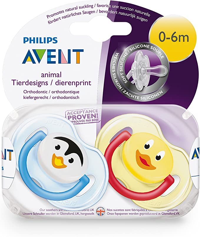 Philips Avent Classic - Chupete para 0-6 meses, color azul ...