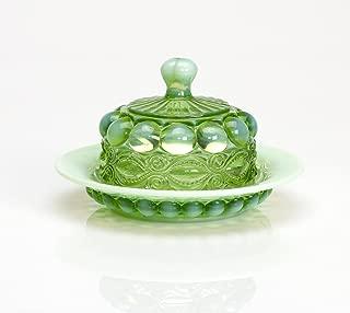 product image for Mosser Glass Eye Winker Butter Dish - Green Opal
