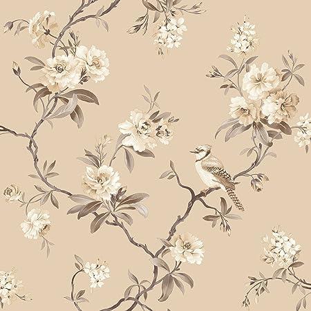 Fine Decor Chinoiserie Wallpaper In Cream FD40767 Full Roll