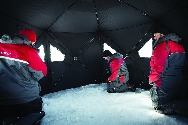 Eskimo Ice Tent & Eskimo Quickfish 6 Ice Fishing Shelter Sc