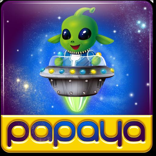 Papaya Planet Bubble ()