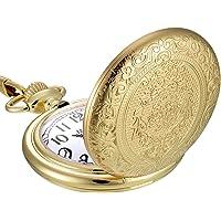 Cadena de reloj de bolsillo de acero inoxidable vintage