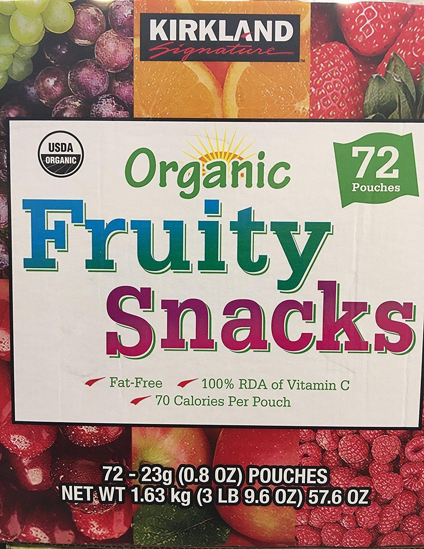 Kirkland Signature/ Organic Fruit Snacks/ 72*0.8 Oz