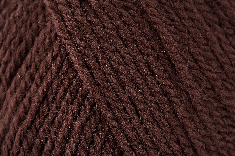 Cygnet C100/2297 Chocolate 100% Acrylic Double Knitting Yarn/Knitting Wool 100g Cygnet Yarns