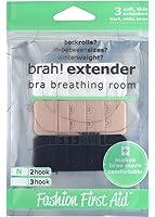 FASHION FIRST AID: Brah! Extender | Extension soutien-gorge | Rallonge fermeture soutien-gorge | 3 pièces 2 crochets | Variante étroite