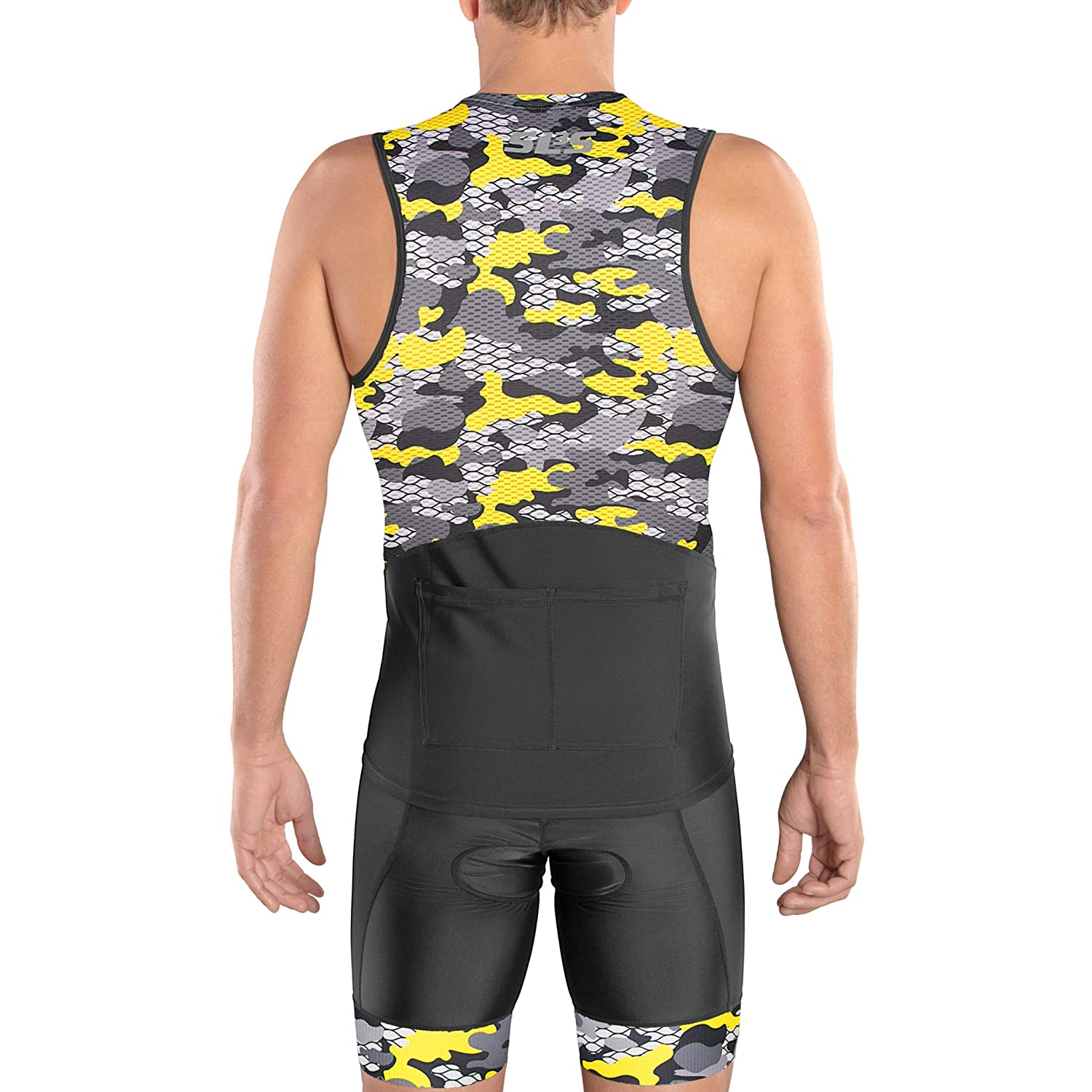 Jersey 2 Pockets Singlet Zipper Designed by Athletes for Athletes SLS3 Tri Top Men FRT Mens Triathlon Top Tight Fit Shirt