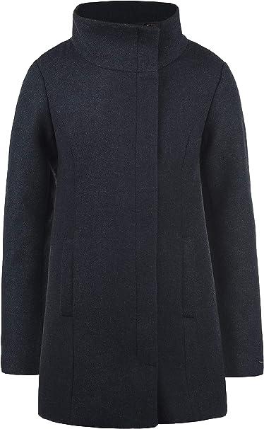 Winterjacke Wollmantel Jacke Mantel Damen Stehkragen Wolke DESIRES mit rshCdQxt