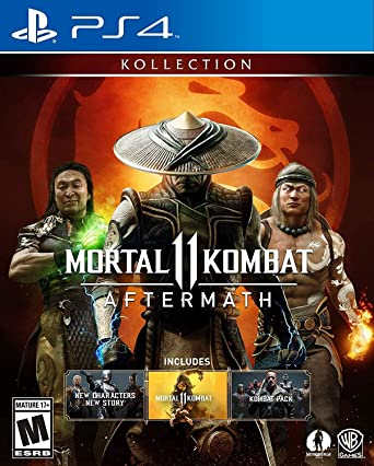Amazon Com Mortal Kombat 11 Aftermath Kollection Playstation 4 Whv Games Video Games