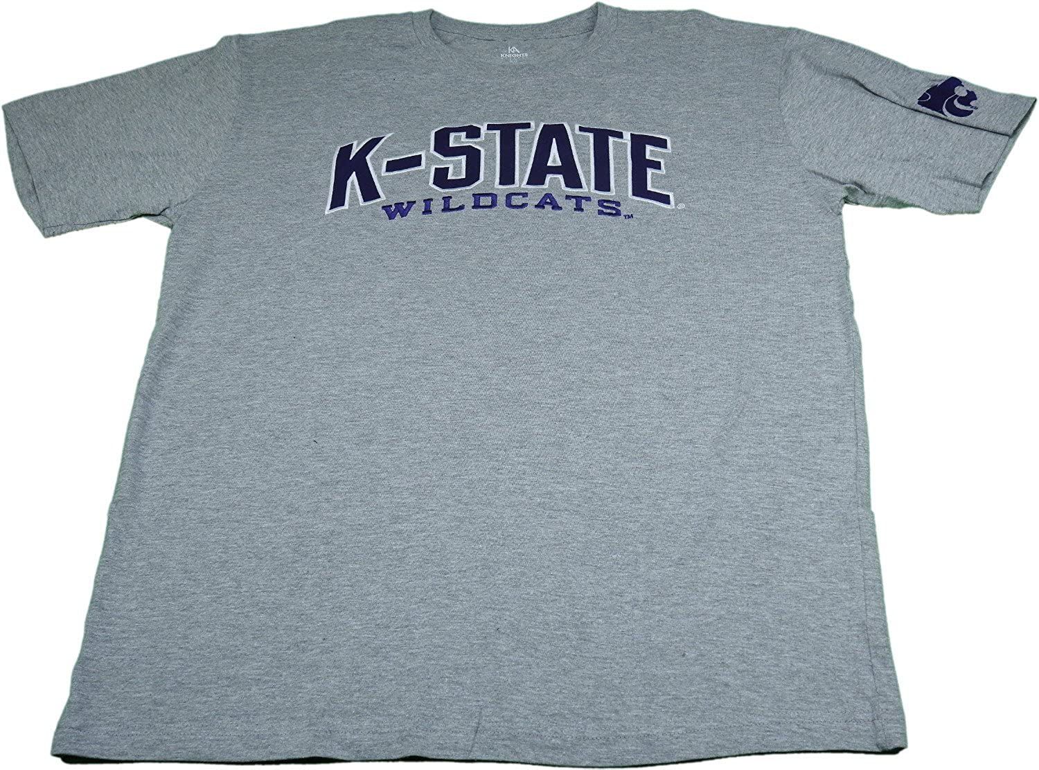 Amazon.com  Knights Apparel Mens Size Large K-State Wildcats T-Shirt ... 83ee8014142a