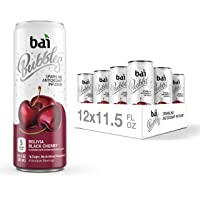 Bai Bubbles, Sparkling Water, Bolivia Black Cherry, Antioxidant Infused Drinks, 11.5  Fl. Oz Cans, 12 count
