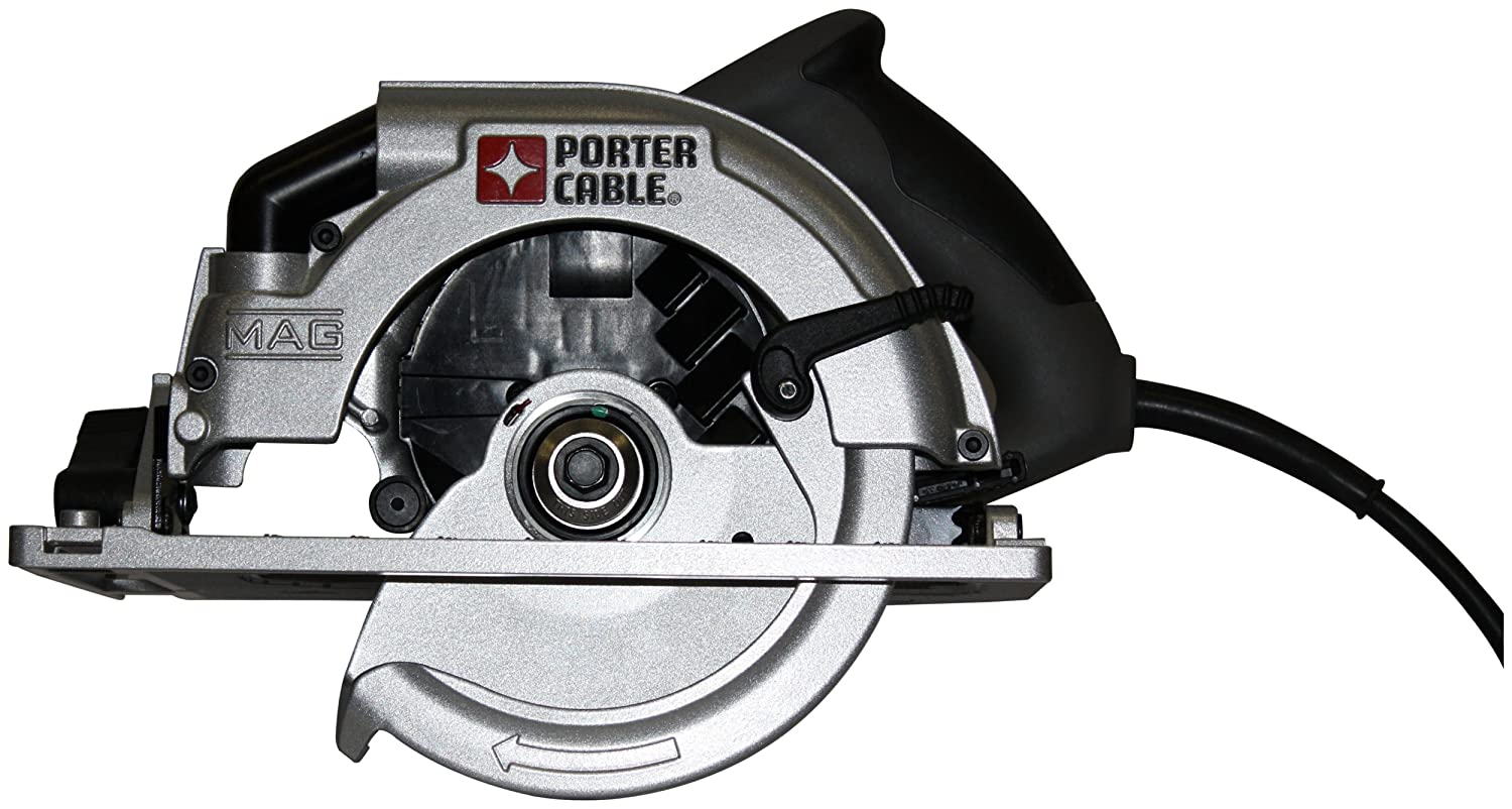 Porter cable 423mag 15 amp 7 14 inch circular saw with blade left porter cable 423mag 15 amp 7 14 inch circular saw with blade left power circular saws amazon greentooth Choice Image