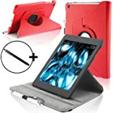 "ForeFront Cases® New Kindle Fire HDX 8.9"" Rotating Leather Case Cover / Stand WILL ONLY FIT All-New Kindle Fire HDX 8.9"" Tablet November 2013 with Magnetic Auto Sleep Wake Function + Stylus Pen"
