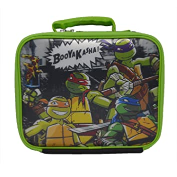 Nickelodeon Ninja Turtles 3D Soft Zipper Lunchbox by: Amazon ...