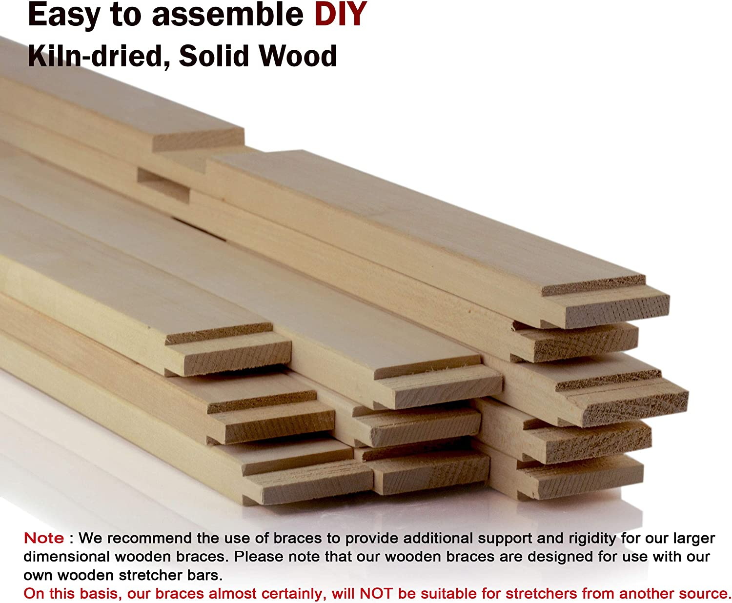 05.5 for 08 1Pcs DIY 5.5 to 69.5 in Length : Art Canvas Frames Cross Braces for Wooden Stretcher Bars//Stretching Strips