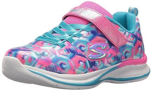 Skechers Power Petals Neon PinkMulti Textil Säugling