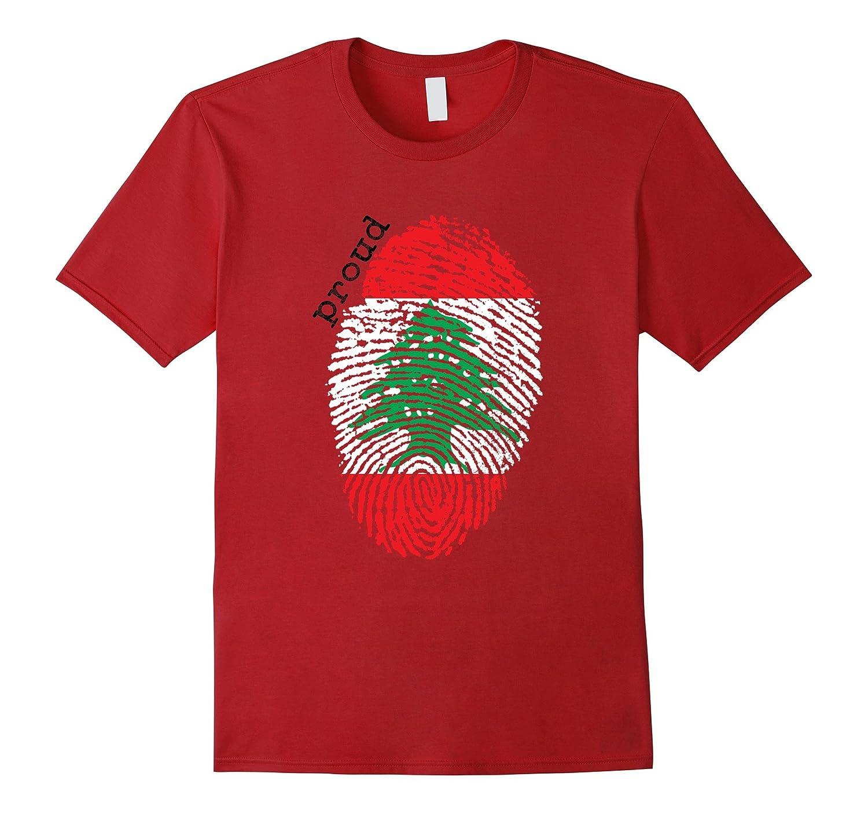 Lebanon flag t-shirt - Lebanon National Flag-TD