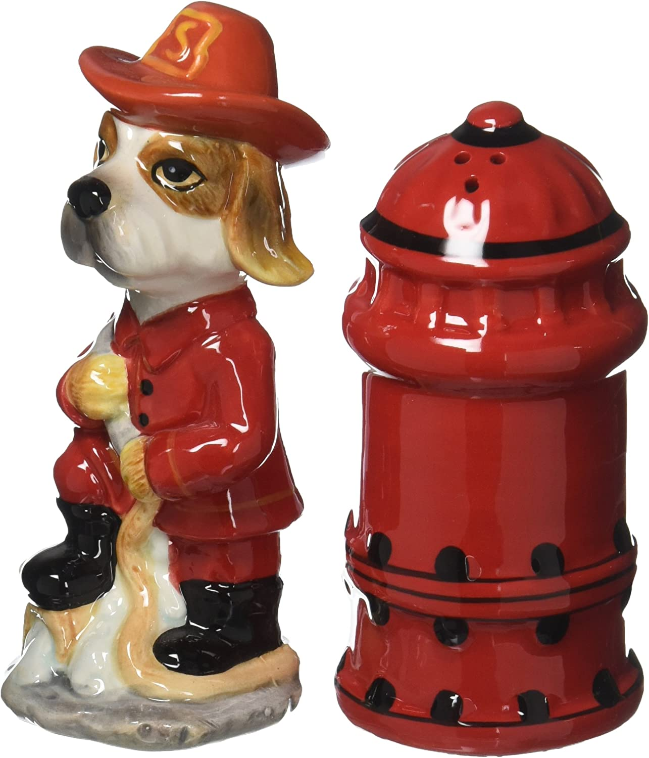 Appletree Fire Fighter Salt and Pepper Shaker Set