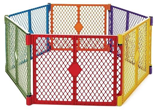 North States Superyard Colorplay Baby Play Yard, Play Yards