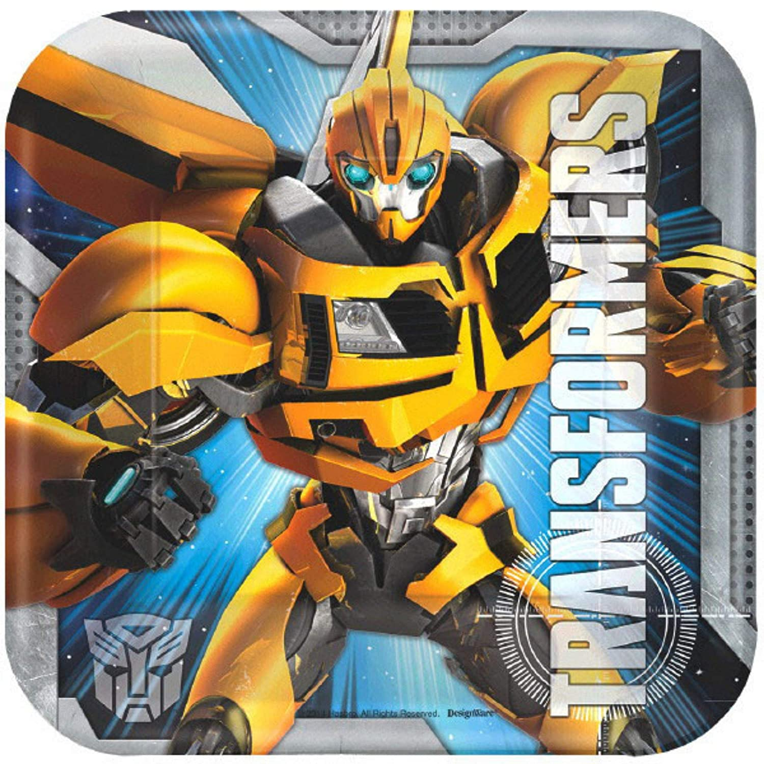 Transformers Birthday Party Supplies Bundle Pack for 16 Guests Basic ParteePak