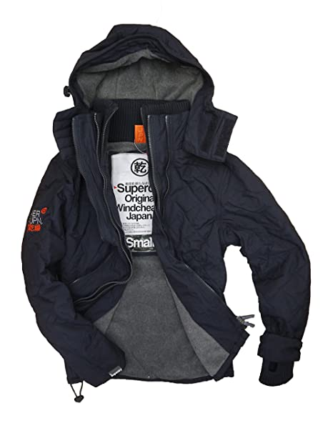 Womens Quilted Windcheater in French Navy   Superdry