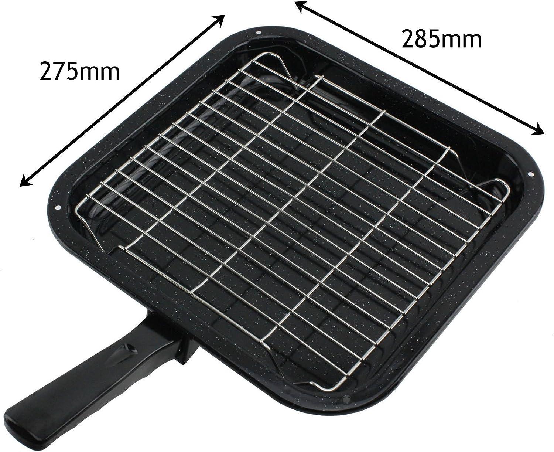 Spares2go pequeño cuadrado sartén parrilla de Rack y mango desmontable para Bosch Horno Cookers: Amazon.es: Hogar