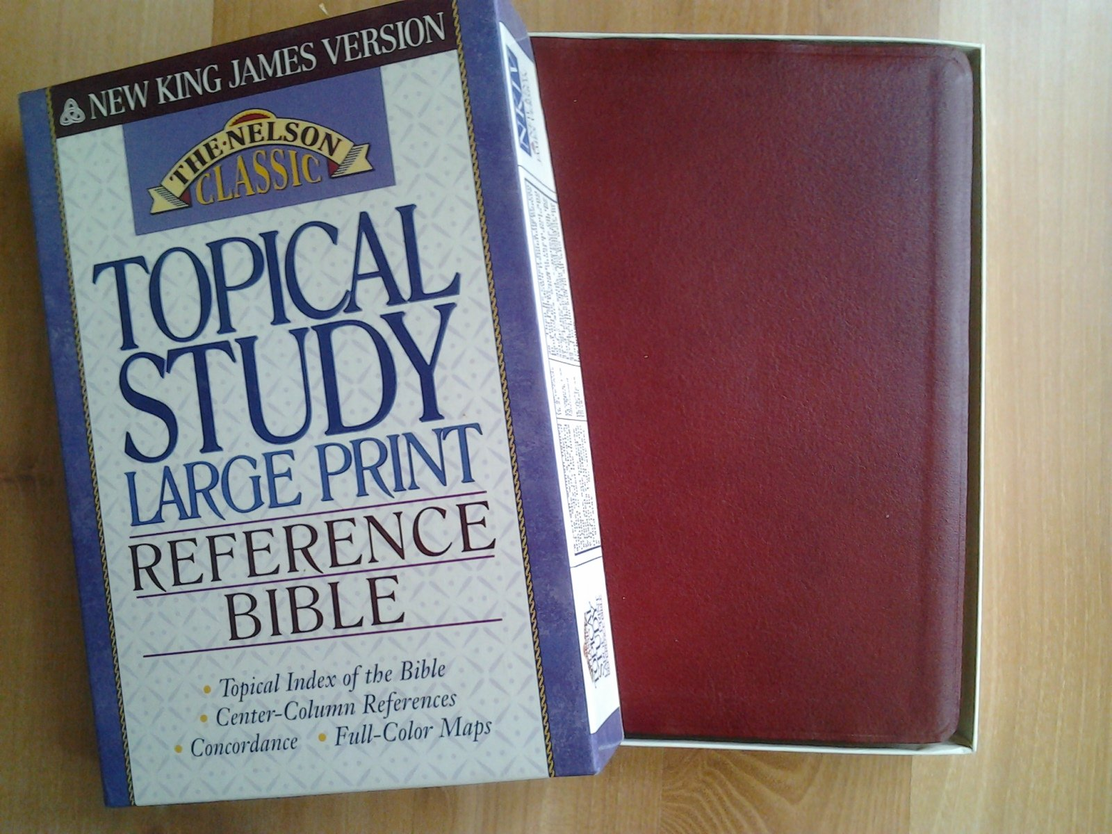 king james study bible large print