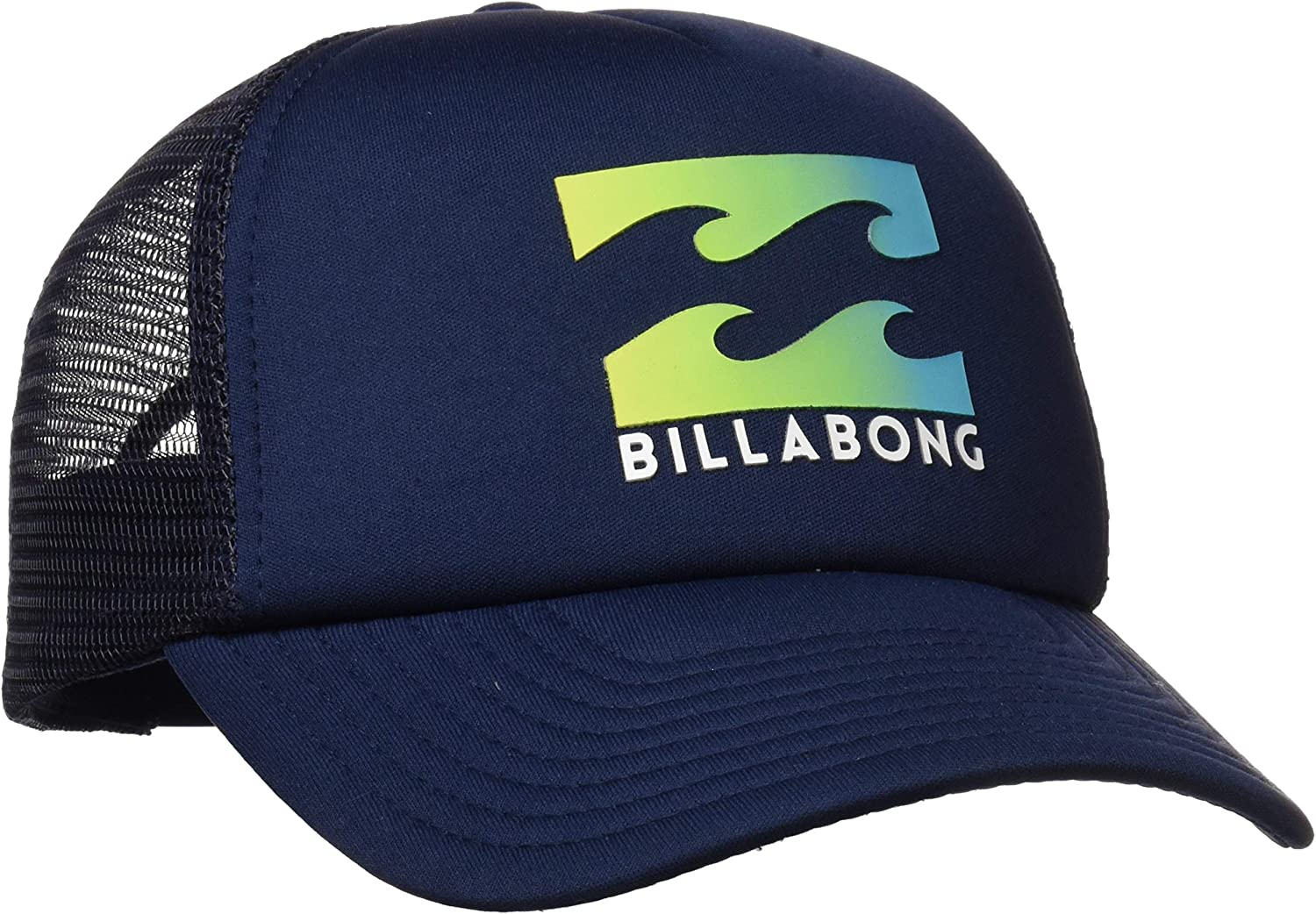 BILLABONG Podium Trucker Gorra, Multicolor (Navy/Lime 3064), One ...