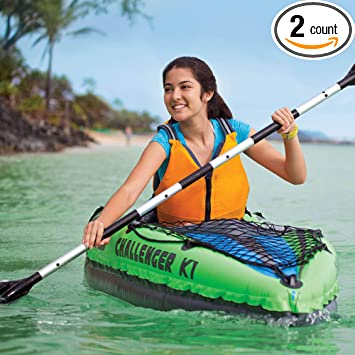 Amazon.com: Intex Challenger K1 - Kayak deportivo hinchable ...