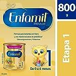 Fórmula Láctea Infantil, Enfamil Premium Etapa 1 para Bebés de 0 a 6 meses, Lata de 800 gramos