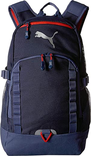 حقيبة ظهر PUMA Evercat الكسور للرجال، لون أزرق داكن، مقاس واحد