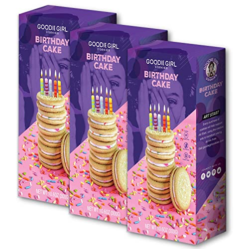 Goodie Girl Cookies Birthday Cake Sandwich Gluten Free And Peanut Delicious Snack