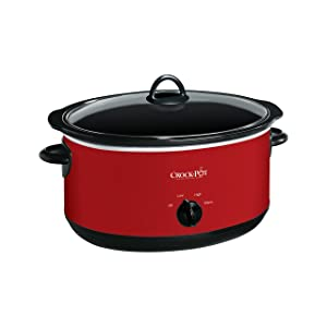 Crock-pot SCV800-R Express Crock Slow Cooker 8 quart Red
