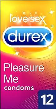 Durex Pleasure Me, Preservativos Estriados y Punteados, Pack de 12: Amazon.es: Salud y cuidado personal